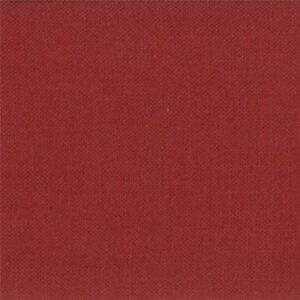 Bella Solids By Moda - Brick Red