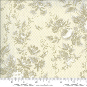 Roselyn By Minick & Simpson For Moda - Tonal Ivory