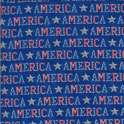 America The Beautiful By Deb Strain For Moda - Distressed White