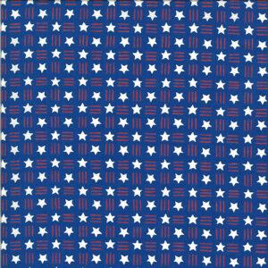 America The Beautiful By Deb Strain For Moda - Lake Blue