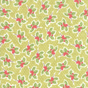 Christmas Figs Ii By Fig Tree & Co. For Moda - Mistletoe