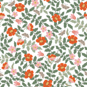 Strawberry Fields By Rifle Paper Co. For Cotton + Steel - Ivory