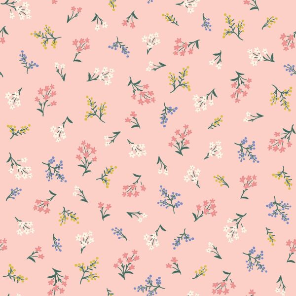 Strawberry Fields By Rifle Paper Co. For Cotton + Steel - Blush
