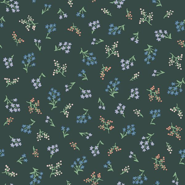 Strawberry Fields By Rifle Paper Co. For Cotton + Steel - Hunter