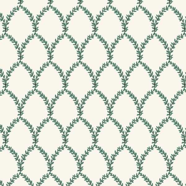 Strawberry Fields By Rifle Paper Co. For Cotton + Steel - Green/Cream