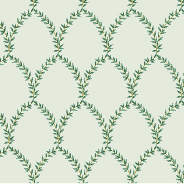 Strawberry Fields By Rifle Paper Co. For Cotton + Steel - Mint