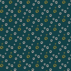 Mountains Rock And Pebbles By Vanessa Binder For Cotton + Steel - Forest Metallic Fabric