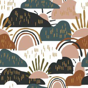 Dear Isla By Hope Johson For Cotton + Steel - Forest