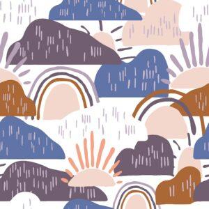 Dear Isla By Hope Johson For Cotton + Steel - Waterdrop
