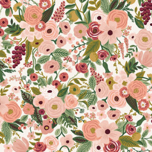 Garden Party By Rifle Paper Co. For Cotton + Steel - Rp100-Ro6 Garden Party - Rose Fabric