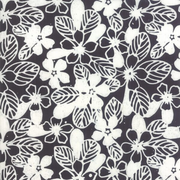 Aloha Batiks By Moda - Black And White