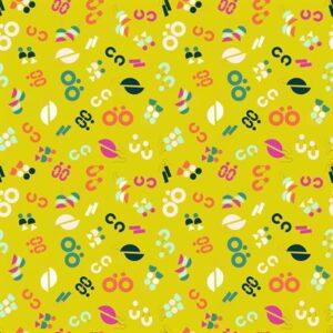 Adorn By Rashida Coleman-Hale Of Ruby Star Society For Moda - Citron