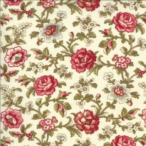 La Rose Rouge By French General For Moda - Pearl