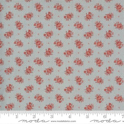 Jardin De Fleurs By French General For Moda - Ciel Blue