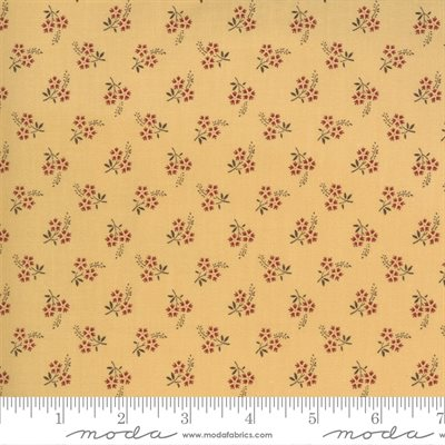 Jardin De Fleurs By French General For Moda - Saffron