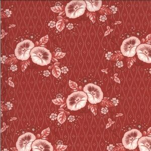 Roselyn By Minick & Simpson For Moda - Warm Red