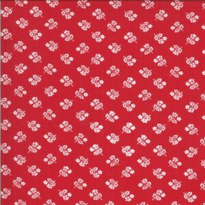 Sophie By Brenda Riddle Designs For Moda - Rosey Red