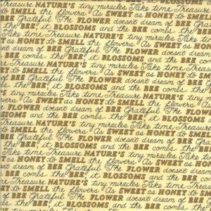 Bee Grateful By Deb Strain For Moda - Honey Yellow