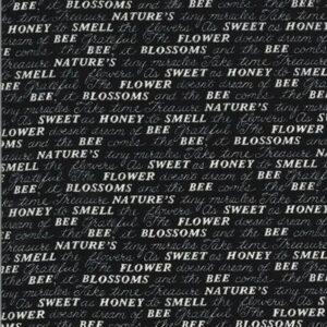 Bee Grateful By Deb Strain For Moda - Ebony