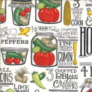 Homegrown Salsa By Deb Strain For Moda - Salt