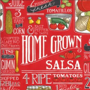 Homegrown Salsa By Deb Strain For Moda - Tomato