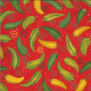 Homegrown Salsa By Deb Strain For Moda - Tomato