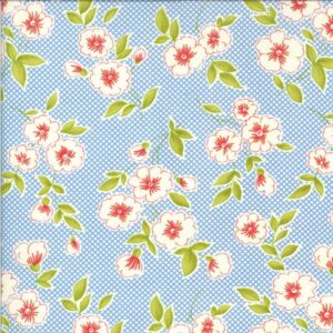 Figs & Shirtings By Fig Tree & Co. For Moda - Cornflower