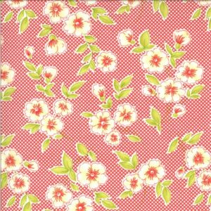 Figs & Shirtings By Fig Tree & Co. For Moda - Barn Red
