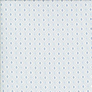 Figs & Shirtings By Fig Tree & Co. For Moda - Linen - Cornflower