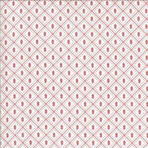 Figs & Shirtings By Fig Tree & Co. For Moda - Linen - Barn Red