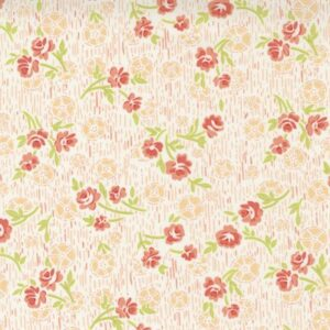 Strawberries And Rhubarb By Fig Tree & Co. For Moda - Crisp Linen
