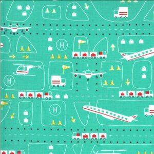 On The Go By Stacy Iest Hsu For Moda - Jet Stream