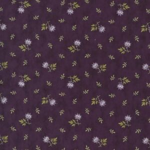 Mill Creek Garden By Jan Patek For Moda - Purple