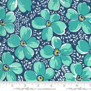 Flowers For Freya By Linzee Mccray For Moda - Bluebird
