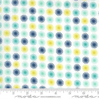 Flowers For Freya By Linzee Mccray For Moda - Cloud - Multi