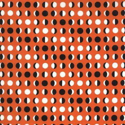 Midnight Magic Ii By April Rosenthal For Moda - Pumpkin