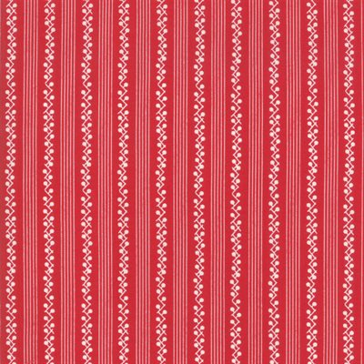 My Redwork Garden By Bunny Hill Designs For Moda - Red