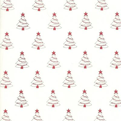 Country Christmas By Bunny Hill Designs For Moda - Winter White