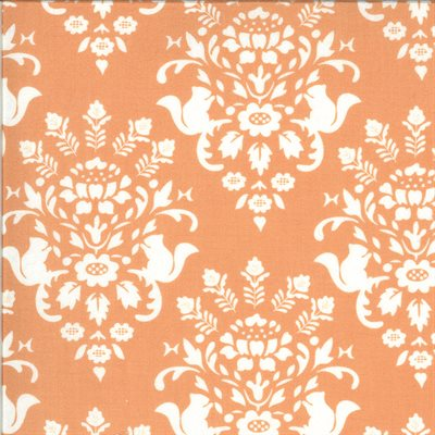 Squirrelly Girl By Bunny Hill Designs For Moda - Apricot