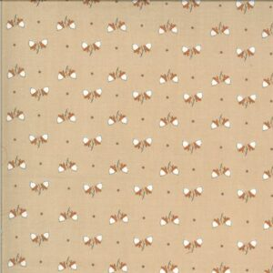 Squirrelly Girl By Bunny Hill Designs For Moda - Latte