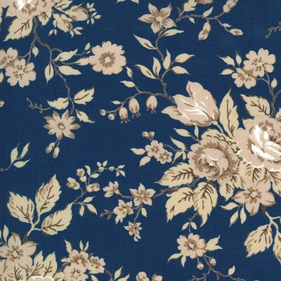 Crystal Lane By Bunny Hill Designs For Moda - Winter Blue