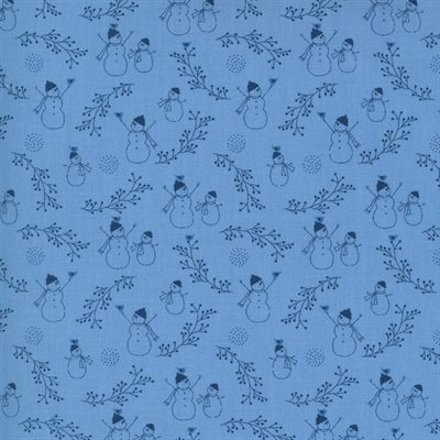 Crystal Lane By Bunny Hill Designs For Moda - French Blue
