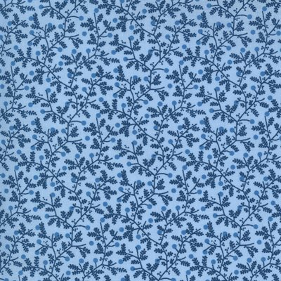 Crystal Lane By Bunny Hill Designs For Moda - Cashmere Blue