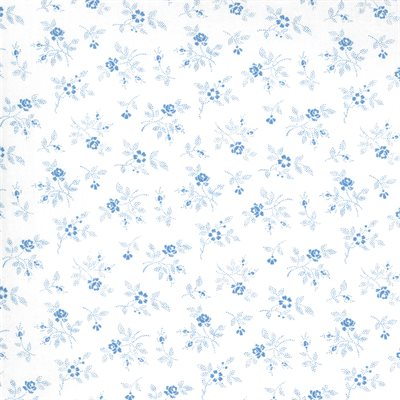 Crystal Lane By Bunny Hill Designs For Moda - Winter White