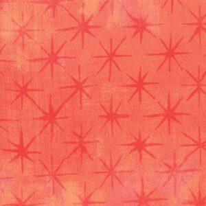 Grunge Seeing Stars By Basicgrey For Moda - Papaya Punch