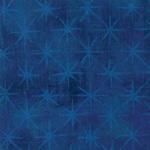 Grunge Seeing Stars By Basicgrey For Moda - Cobalt