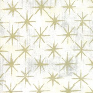 Grunge Seeing Stars Metallic By Basicgrey For Moda - Vanilia