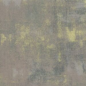 Grunge Metallic By Basicgrey For Moda - Grey Couture