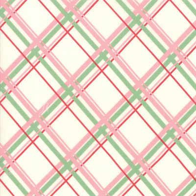Deer Christmas By Urban Chiks For Moda - Marzipan - Pink