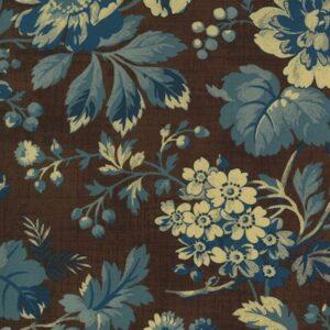 Maria's Sky 1840-1860 By Betsy Chutchian For Moda - Chocolate - Indigo